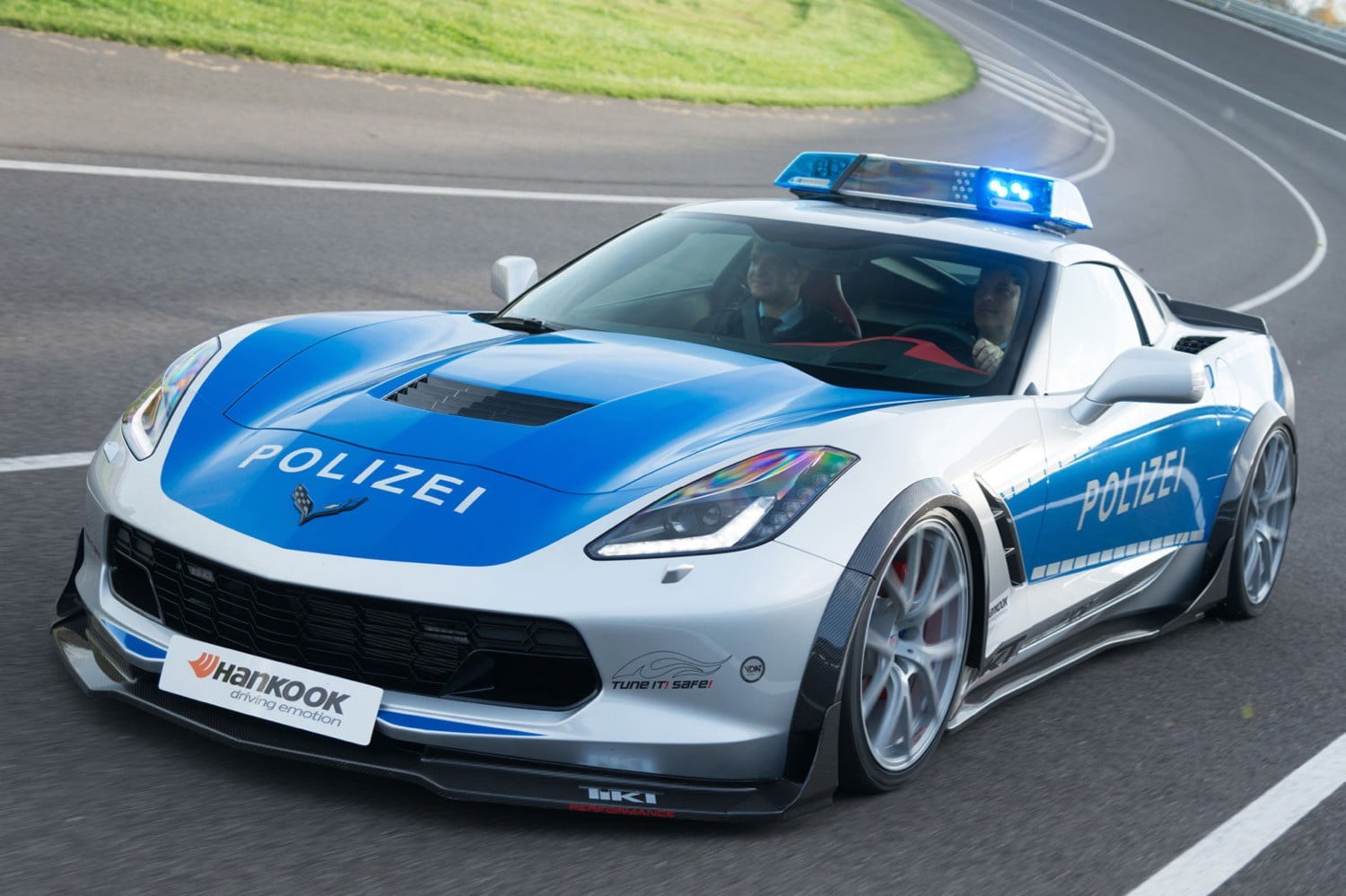 Rest Easy Speeders This Chevy Corvette Police Car Is On A - Sports cars vs police