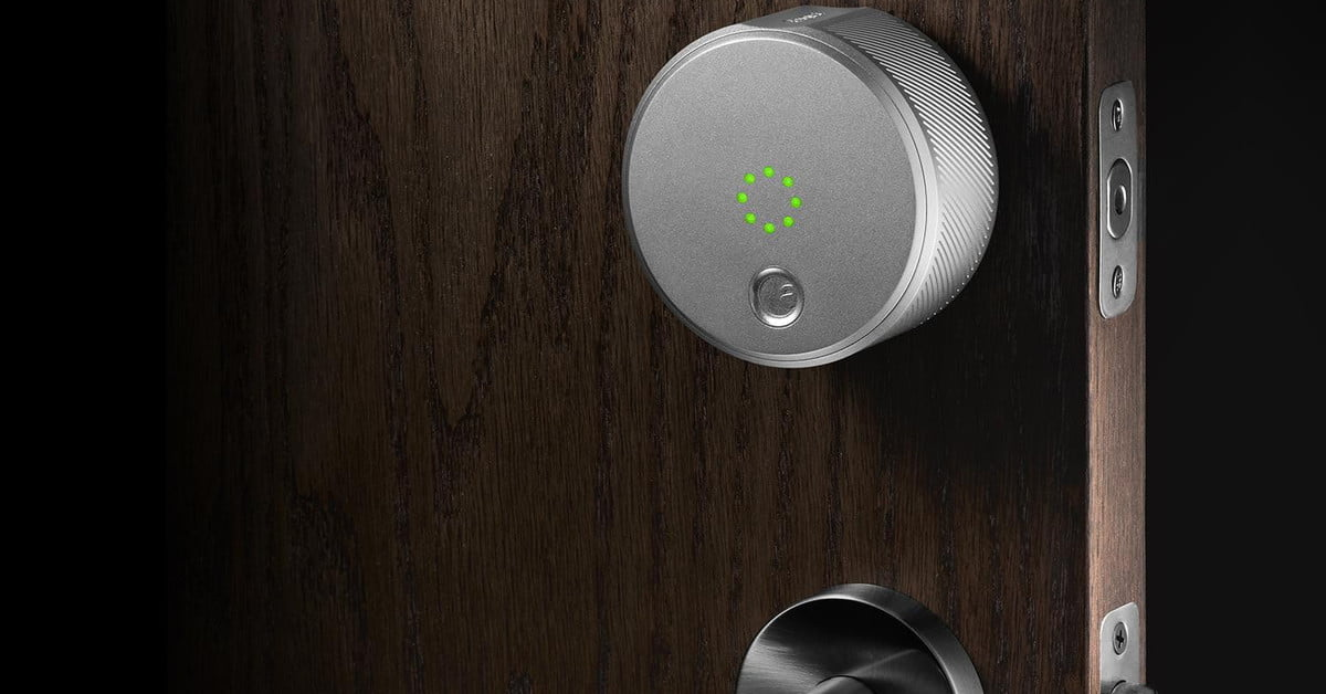 August Home S Smart Locks Out Now Doorbell Available For
