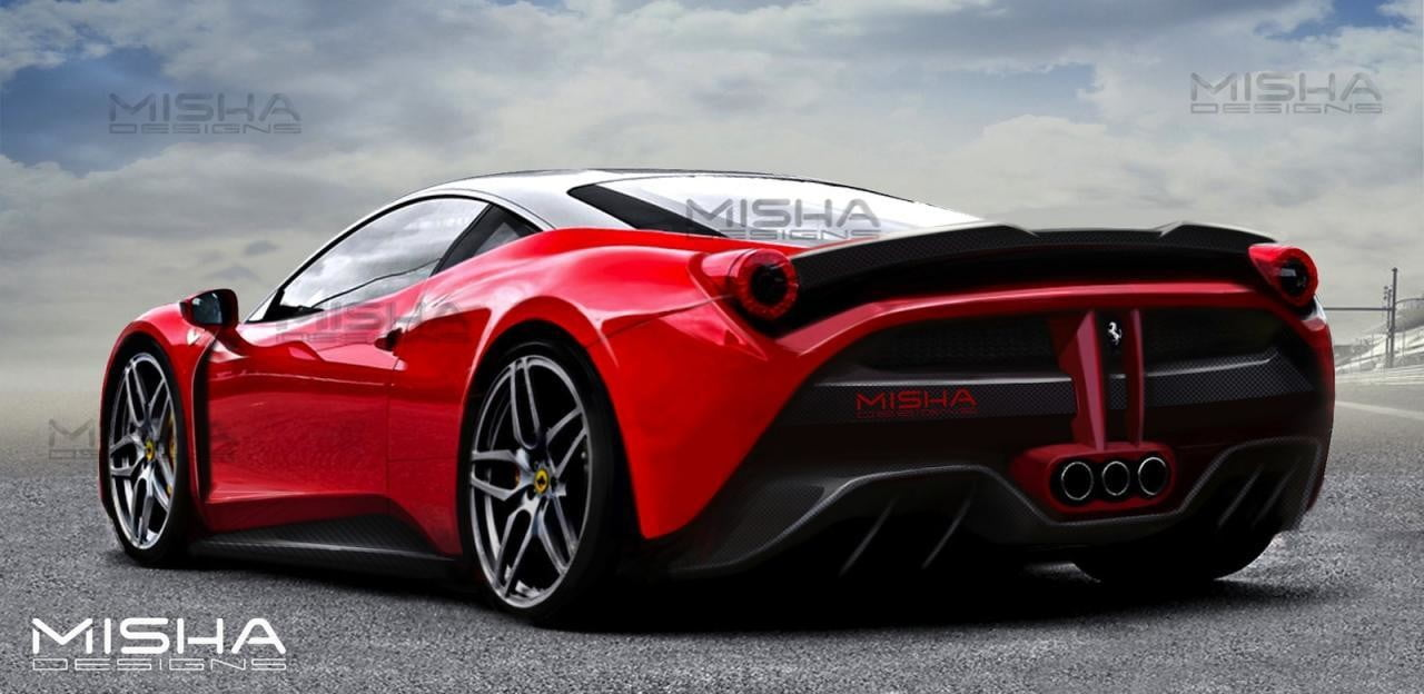 To Create A New Look Misha Designs Ferrari Body Kit Takes