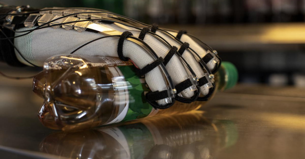 These gloves make virtual objects tangible