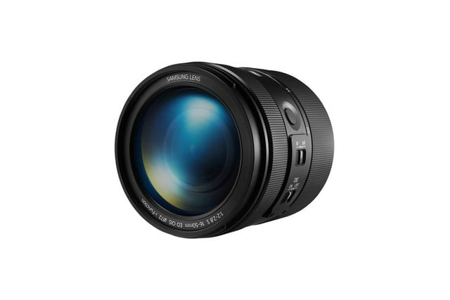 samsung unveils two 16 50mm lenses at ces 2014 f2 2 8 s ed ois lens