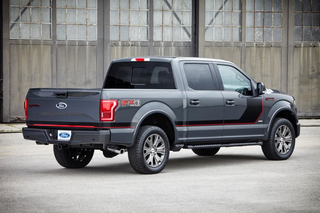 2015 F-150 Lariat Special Edition rear angle
