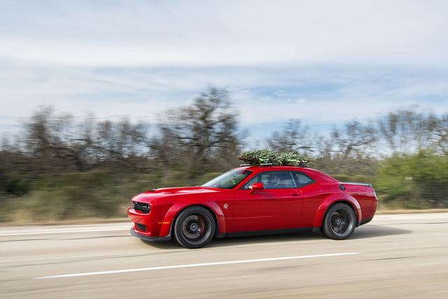 hennessey and dodge takes record for worlds fastest christmas tree 174mph 04