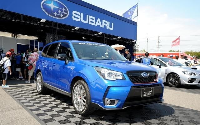 Subaru Forester Sti Ts Concept Lands In Japan Pictures Digital Trends