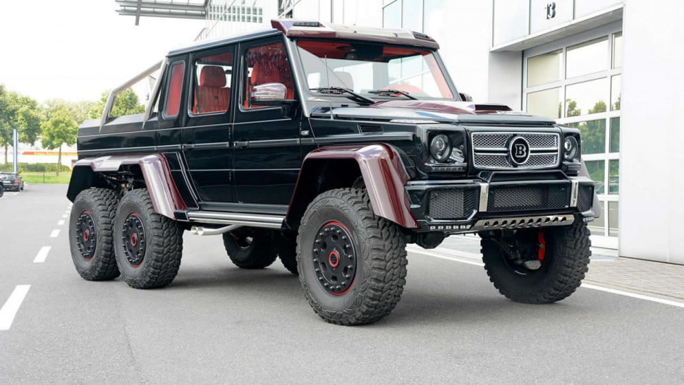 Brabus Mercedes G63 AMG 6x6  Official pictures and specs