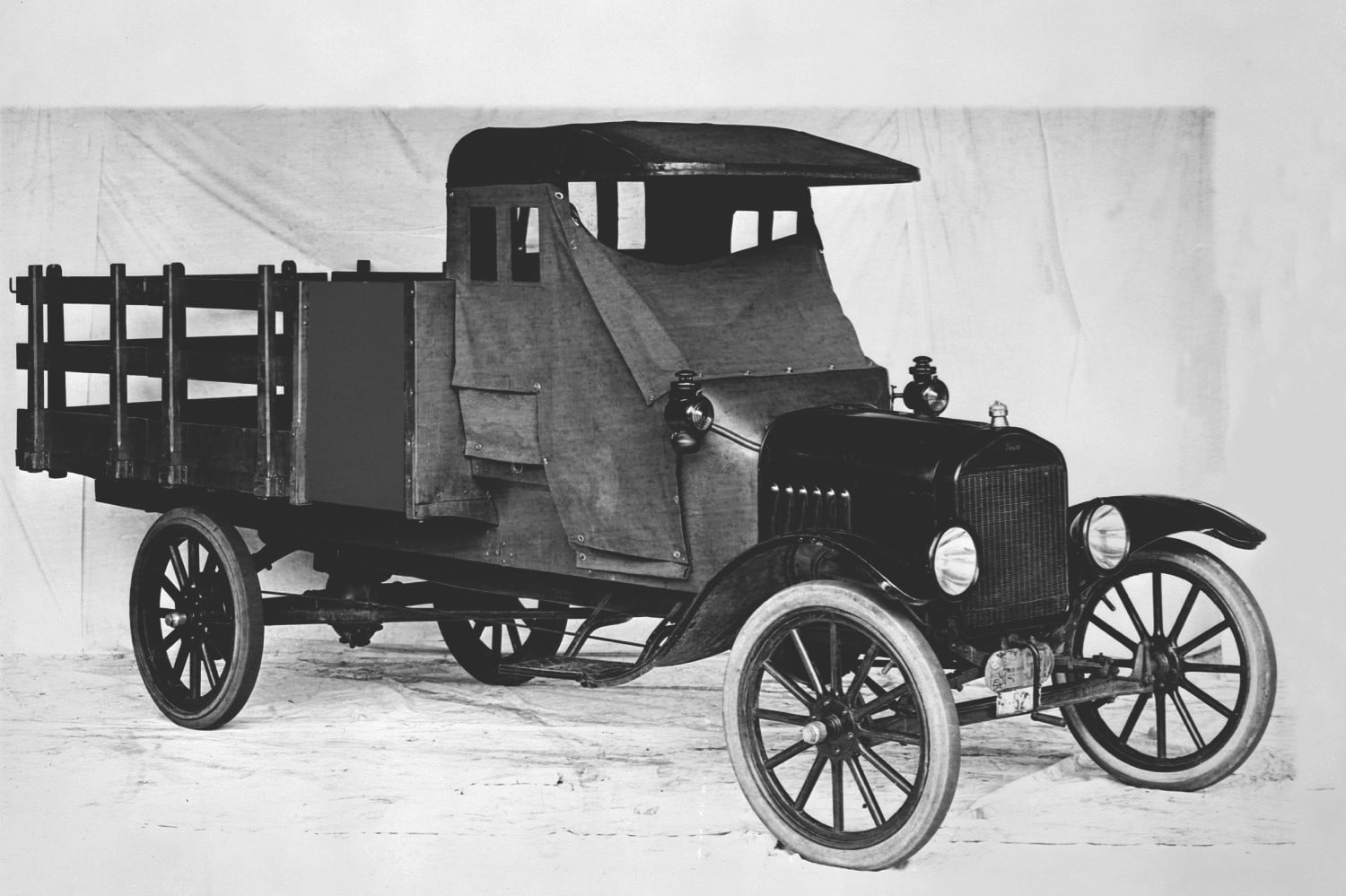 Ford Trucks Haves Come A Long Way In 100 Years Photos History 1954 Tow Truck Digital Trends