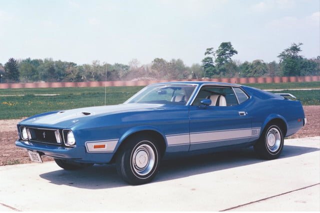 looks thing new mustang ford brings back mach 1 moniker 1973 mach1