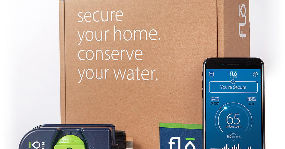 flo by moen debuts at ces  detects leaks as small as a