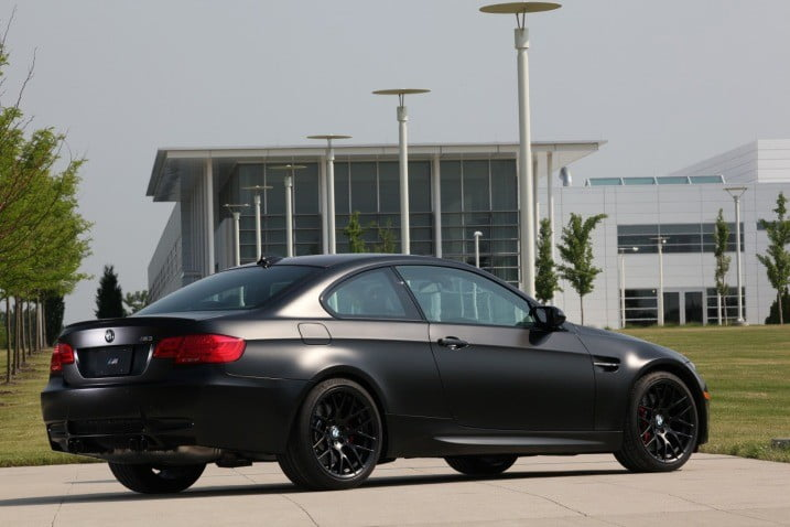 Bmw Frozen Black M3 Murdered Out Straight From The Factory