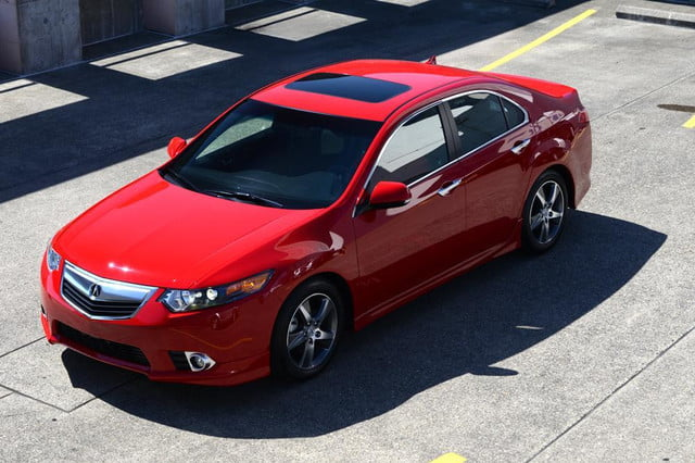 2012 acura tsx special edition accura exterior front top left angle