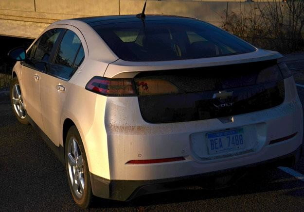2012 chevy volt rear detail