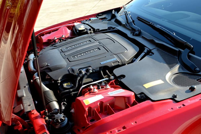 2012 jaguar xkr review engine angle