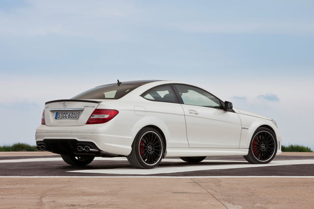 11 cars that will go extinct in 2016 2012 mercedes benz c63 amg coupe 1