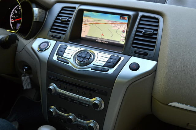 2012 nissan murano sl awd crossover review interior dashboard