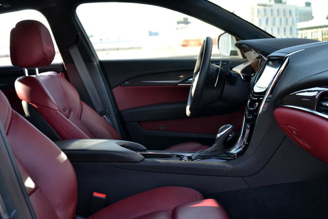 2013 cadillac ats review front from drivers