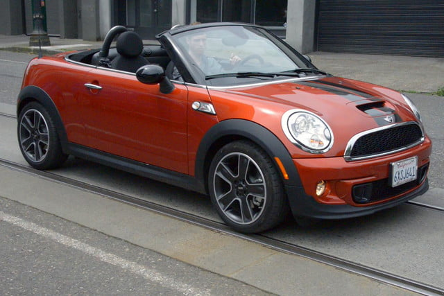 2017 Mini Cooper S Roadster Exterior Front Right Motion