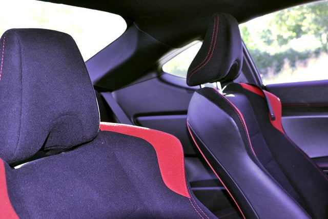 2013 scion fr s review interior seats red trim