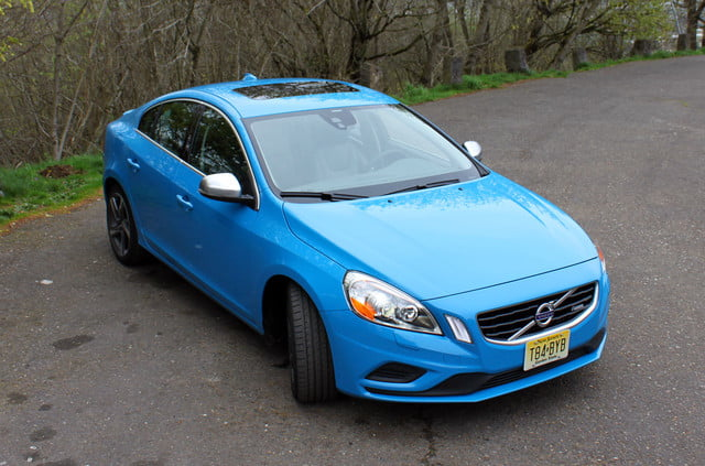 2013 volvo s60 t6 r design exterior top front right