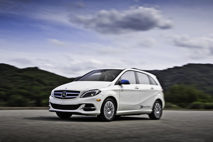 Mercedes Benz B Cl Electric Drive