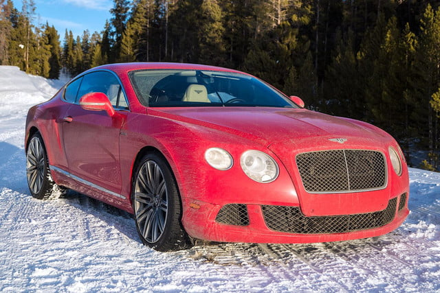 2014 Bentley Continental GT Speed red front angle