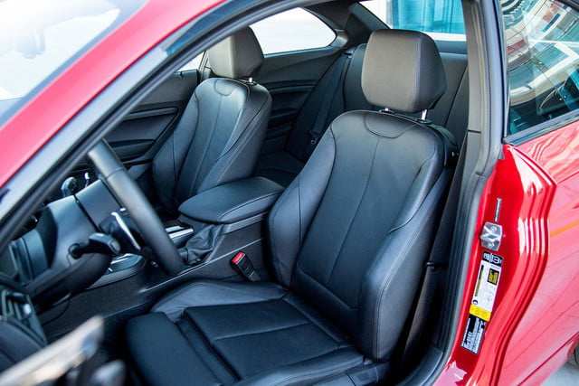 2014 BMW M235i front cabin from back