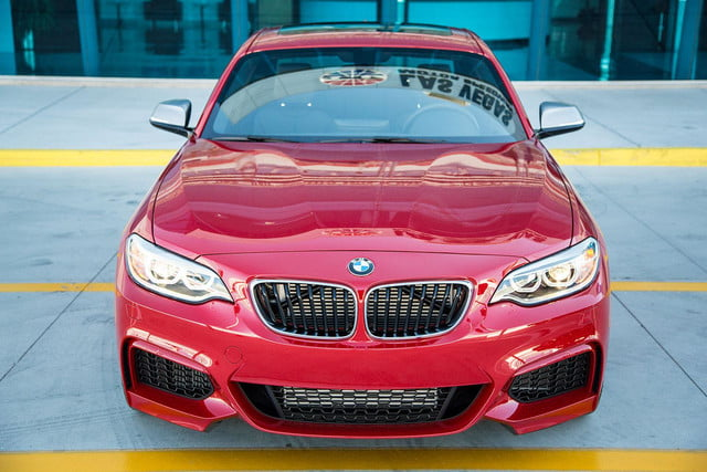 2014 BMW M235i front top