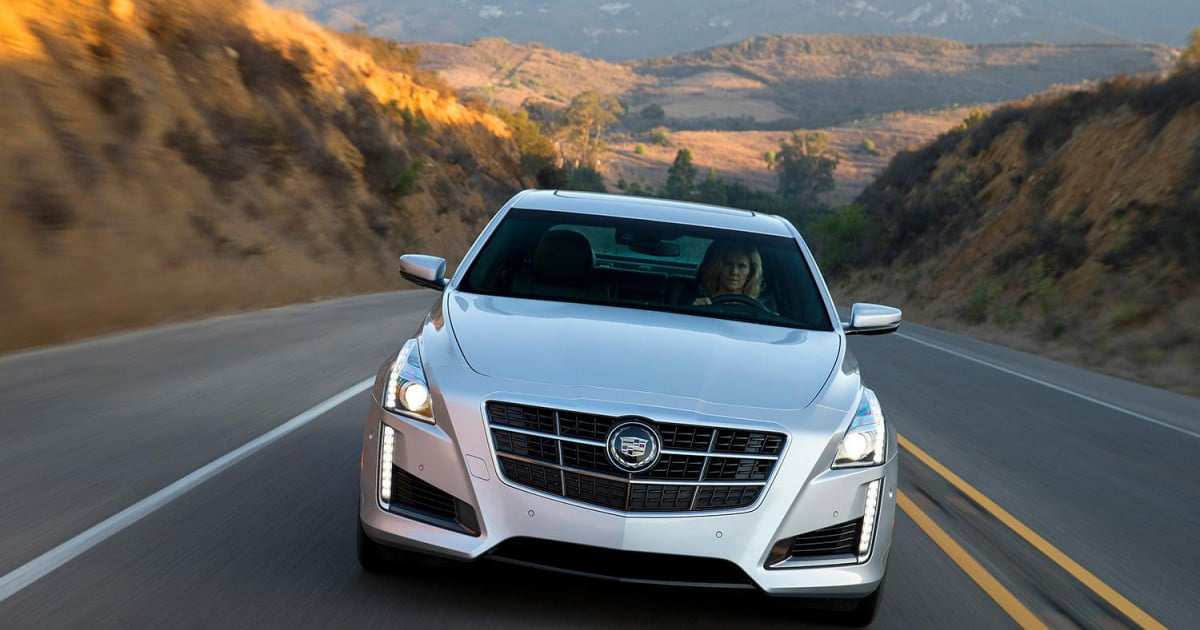 en cts vsport cadillac review view