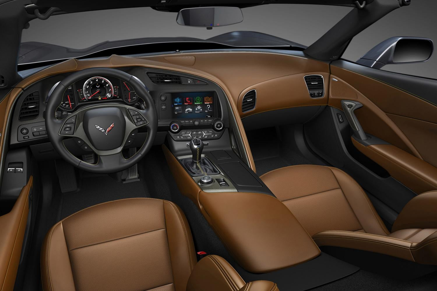 The 2014 Corvette gears up for street debut, supercar competition ...