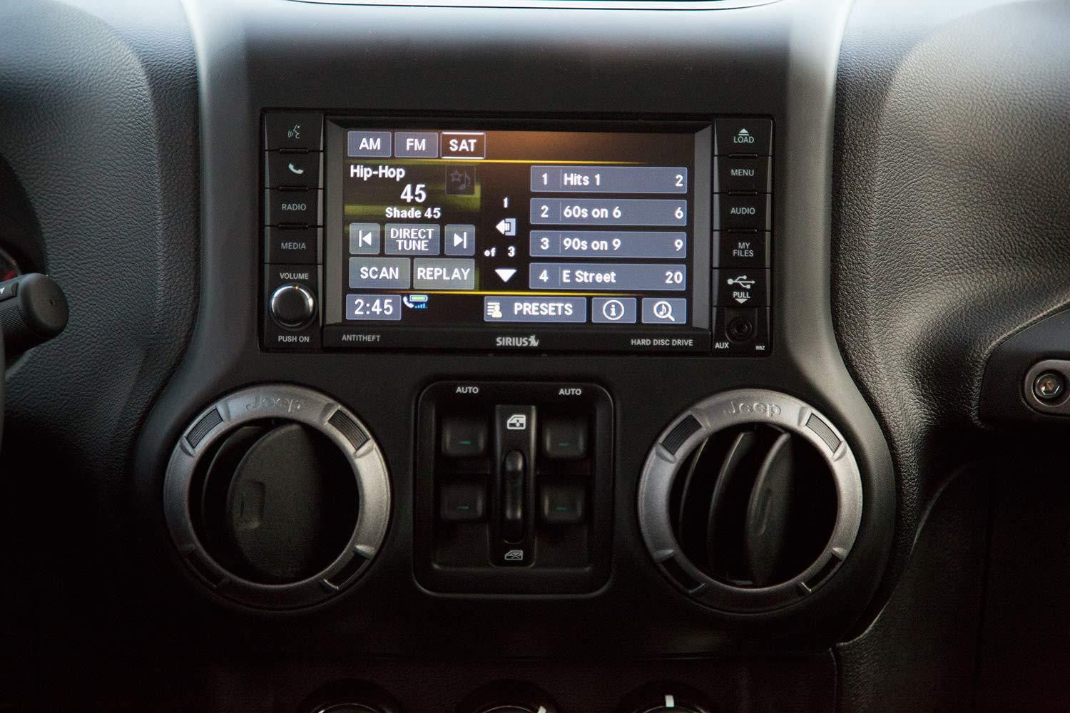 Best Aftermarket Car Stereo Jeep Wrangler