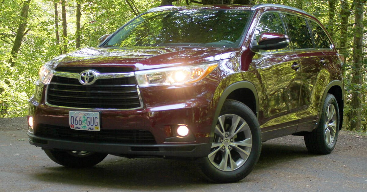 2014 Toyota Highlander Xle Awd Review Digital Trends