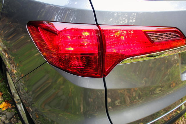 2015 Acura RDX first drive rear taillight
