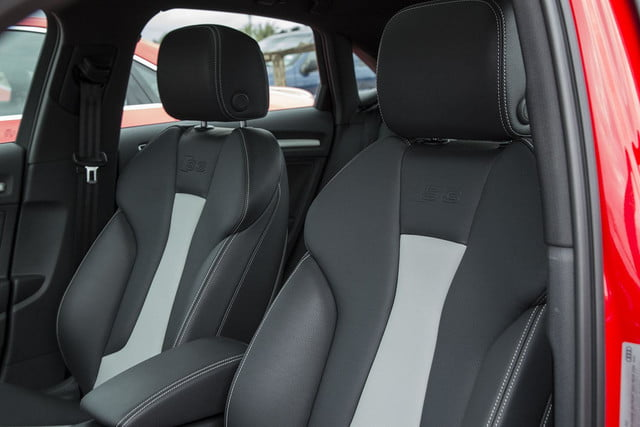 2015 Audi S3 front seat 2