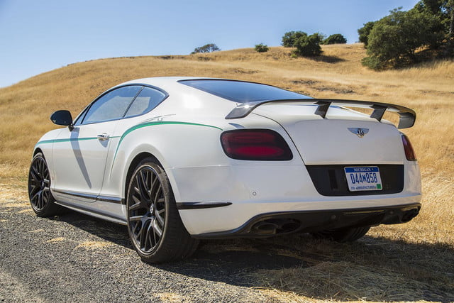 2015 Bentley Continental GT3-R back angle