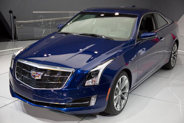 2015 Cadillac ATS Coupe front left