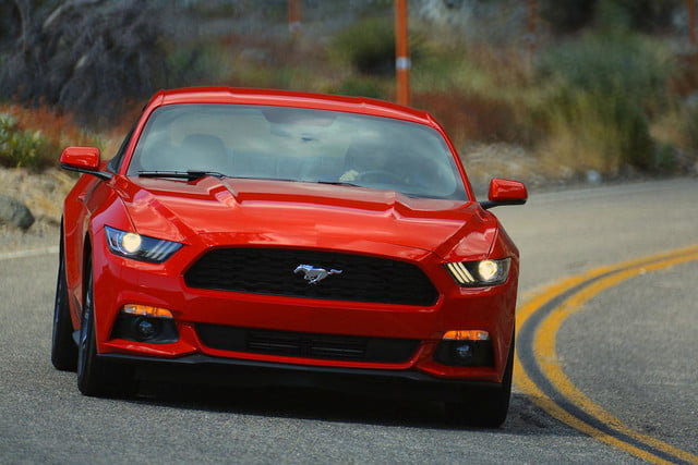 2015 Ford Mustang driving 2