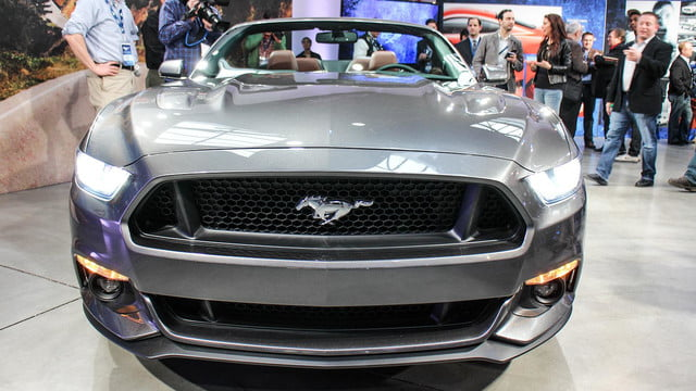 2015 ford mustang front grill
