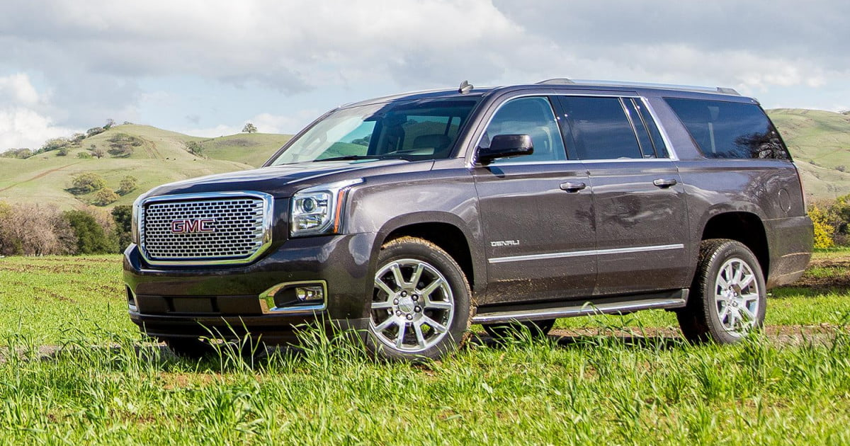 2015 gmc yukon xl denali review digital trends. Black Bedroom Furniture Sets. Home Design Ideas