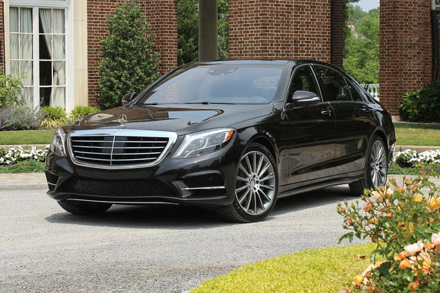 2017 Mercedes Benz S550 Front Angle