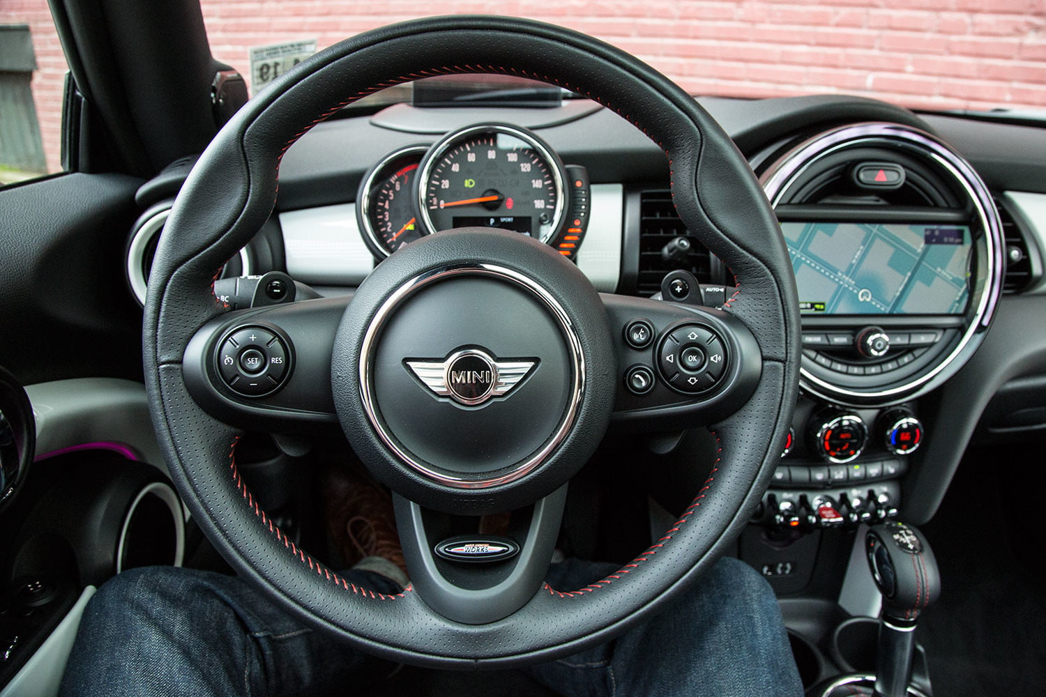 2017 Mini Cooper S Hardtop Review Steering Wheel