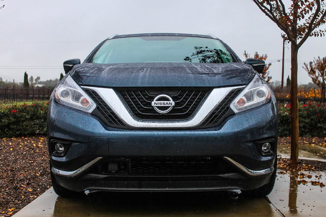 2015 Nissan Murano review front