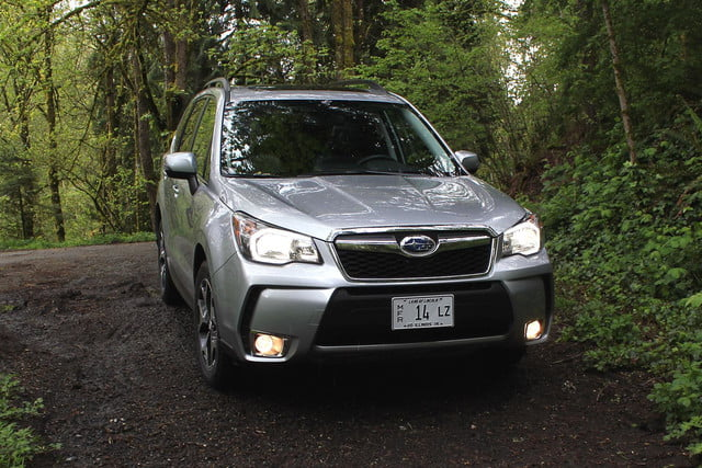 2015 Subaur Forester XT front angle