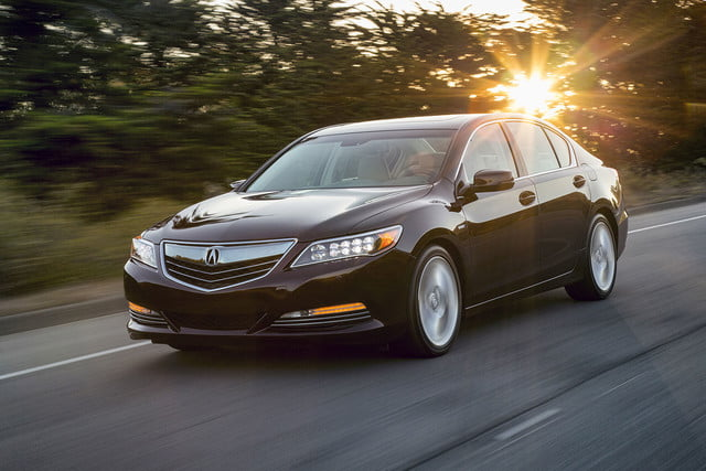 2016 Acura RLX Sport Hybrid driving front side 3