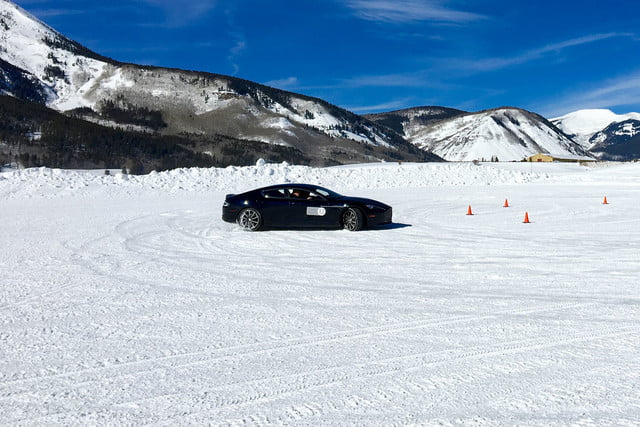 2016 aston martin on ice first drive track 4