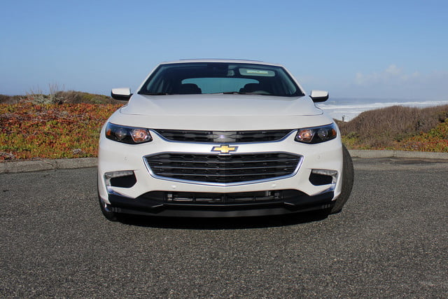 2016 chevrolet malibu first drive front