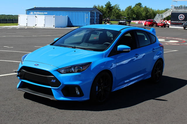 2016 ford focus rs first drive feat
