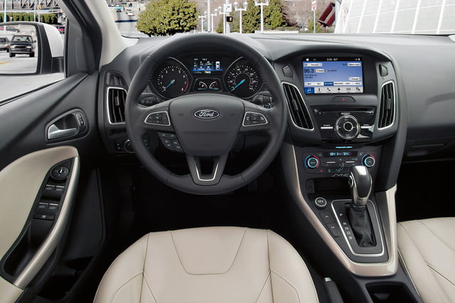 2016 ford focus rs first drive interior 1