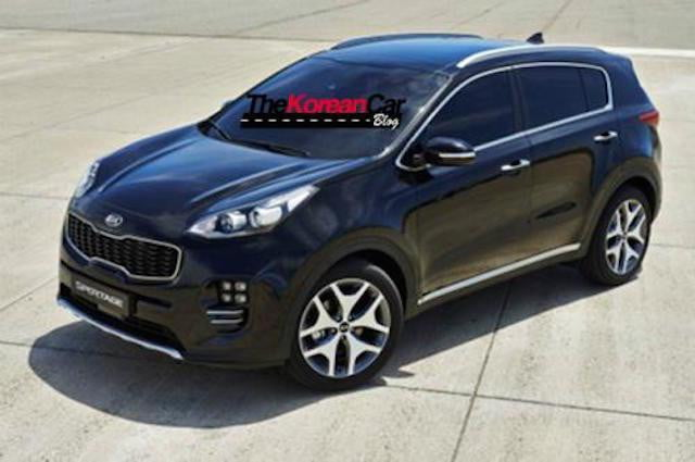 kia s 2016 sportage gets a fresh face engines and. Black Bedroom Furniture Sets. Home Design Ideas