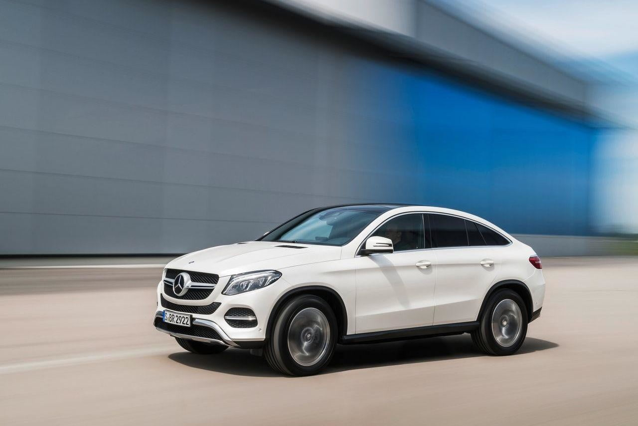 mercedes benz prices its 2016 glc at 38950 and its gle coupe at 65100