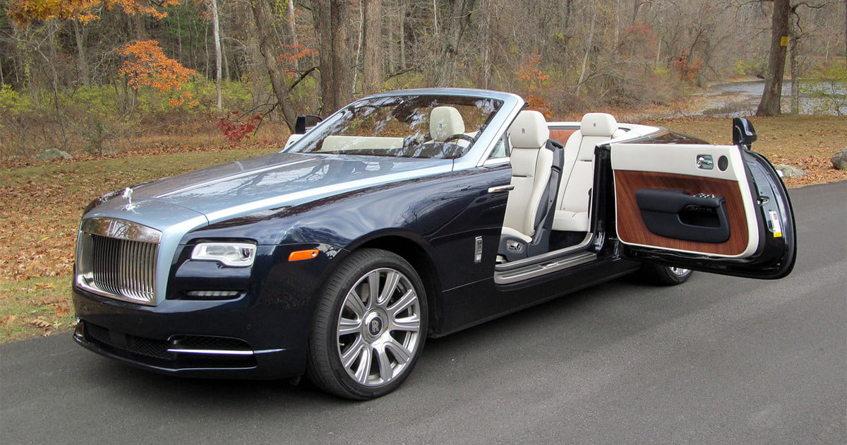 2016 rolls royce dawn review digital trends. Black Bedroom Furniture Sets. Home Design Ideas