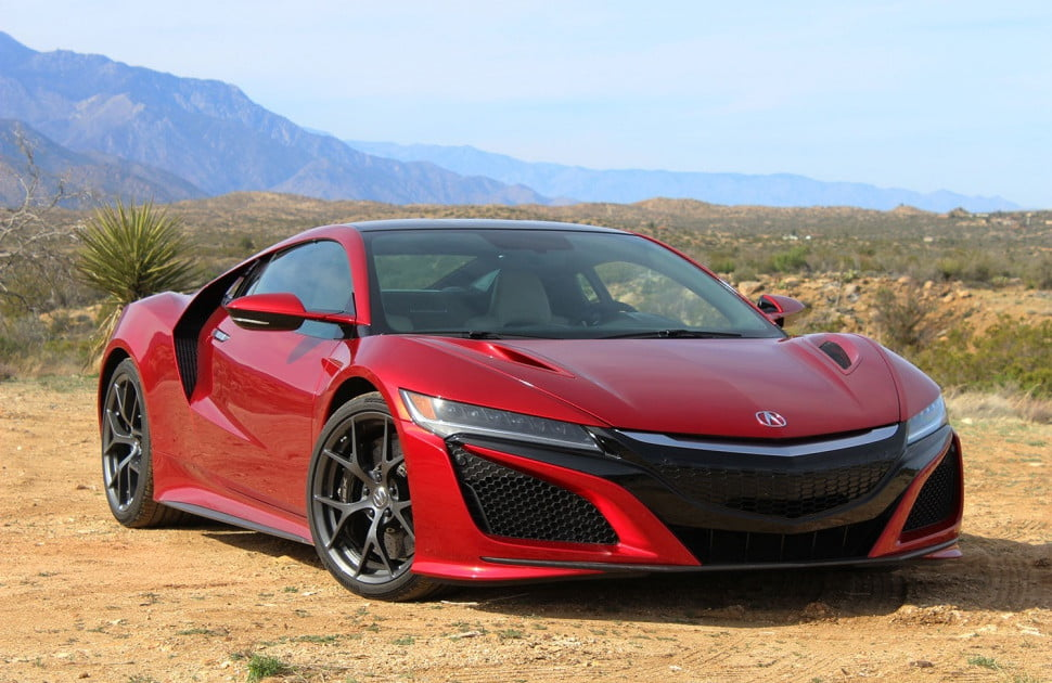2017 acura nsx rolls off production line pictures specs digital trends. Black Bedroom Furniture Sets. Home Design Ideas